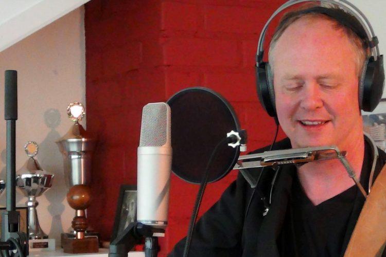 Robert van der Meulen in de studio!